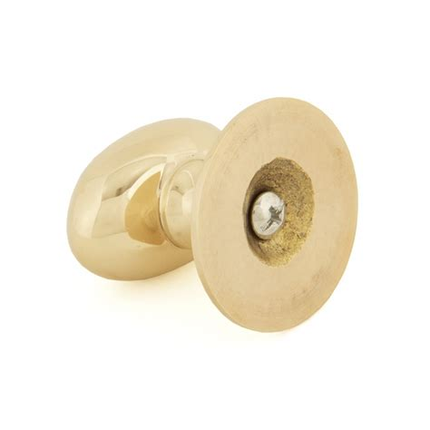 polished brass cabinet knobs large polished brass oval cabinet knob from period home style