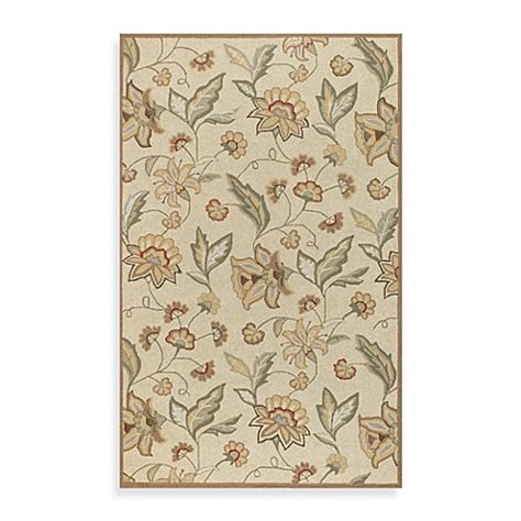 surya indoor outdoor rugs surya ovar indoor outdoor area rug in beige bed bath beyond