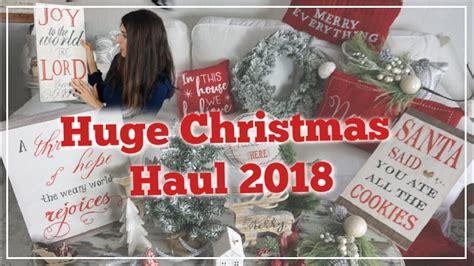 dollar tree christmas haul 2018 haul 2018 unboxing walmart hobby lobby target dollar tree momma from