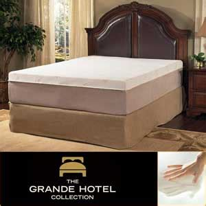 Hotel Collection Mattress Review by Grande Hotel Collection Posture Support 14 Inch Trizone
