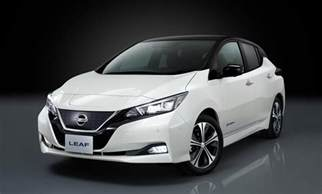 Electric Vehicle Recent News 2018 Nissan Leaf Packs More Range Lower Cost Into Sleek Look