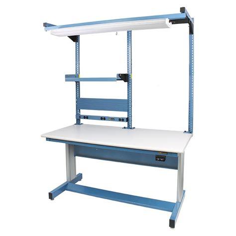 iac benches iac hand crank height adjustable workbench 30 d x 60 w
