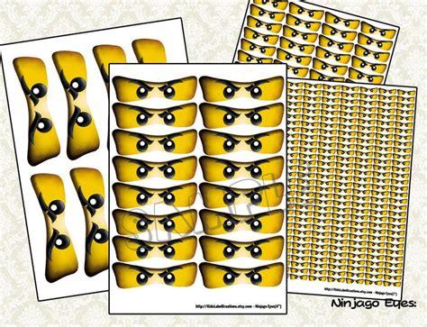 printable ninjago stickers ninjago eyes ninjago balloon stickers ninjago lollipop