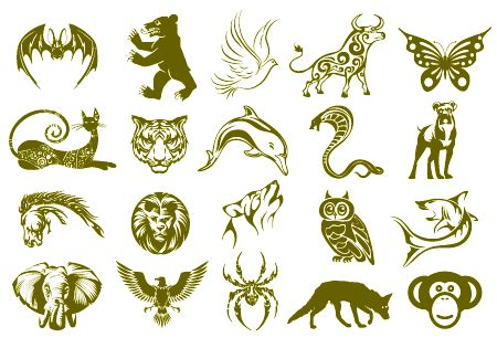 animal tattoo meaning strength symboles animaux