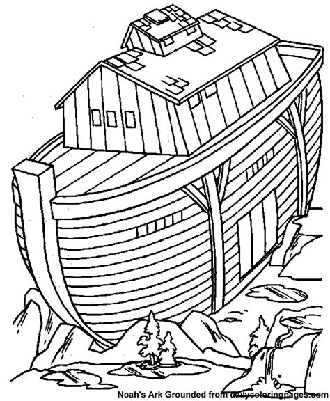 coloring pages for noah s ark noah and the ark coloring pages coloring home