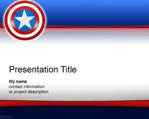 free america powerpoint template free powerpoint templates