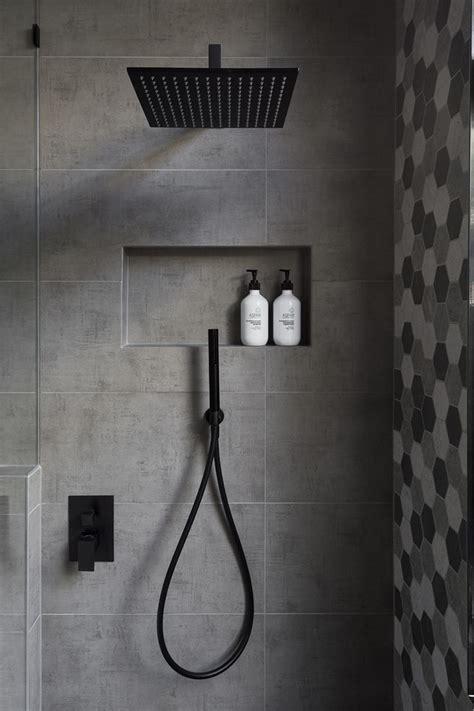 black modern bathroom best 25 black shower ideas on black bathrooms