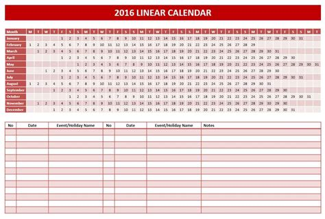 2016 Calendar Templates Microsoft And Open Office Templates Calendar Template Powerpoint