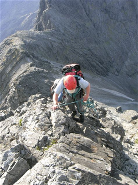 Eiger Traverse 1 2 Black cuillin ridge traverse guides