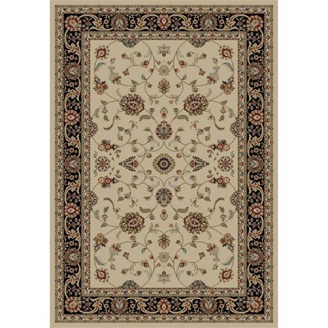 natco home fashions rugs natco kurdamir derby ivory 5 ft 3 in x 7 ft 7 in area rug 2028iv69h the home depot