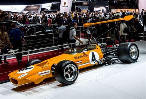 formel 1 wagen mclaren m7c formel 1 wagen aus dem jahr 1969 sein motor