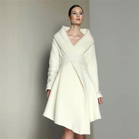Maxi Dress 23018 womens white coats for winter jacketin
