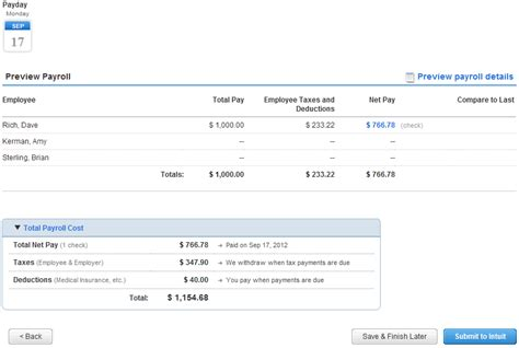 Intuit Background Check Creating Bonus Checks For Intuit Service Payroll