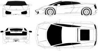 Lamborghini Gallardo Blueprint Lamborghini Gallardo Blueprint Www Pixshark Images