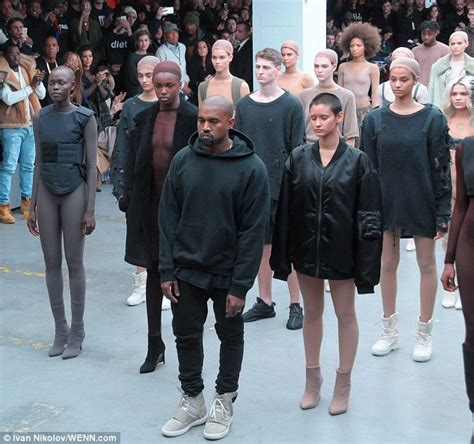 Fashion Week Kayne 2 by Kanye West S Debut Adidas Collection Slammed By The