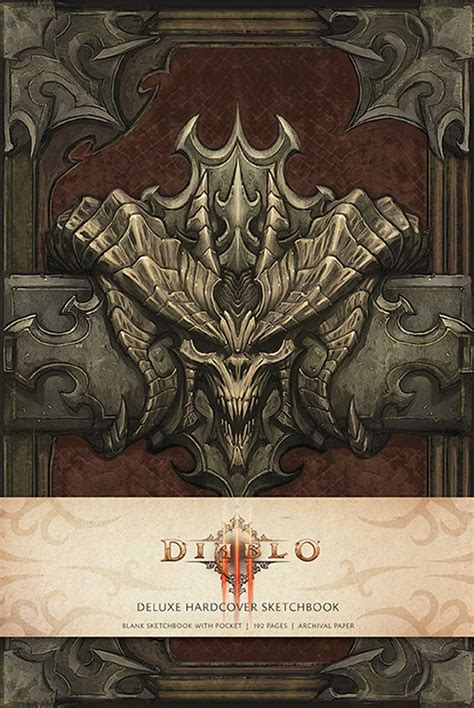 diablo iii book of 1608870634 diablo iii hardcover blank sketchbook book by blizzard entertainment official publisher