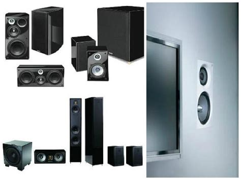 what type of home theater speakers do you sound