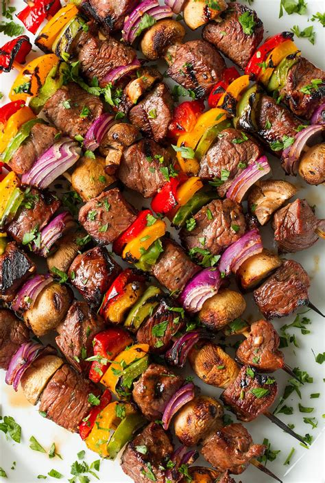 kebab recipe steak kebabs cooking