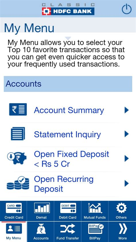 hdfc bank mobile banking hdfc bank mobile banking app for ios and android
