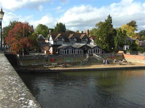 boat house media view of the boat house from wallingford bridge picture of the boat house