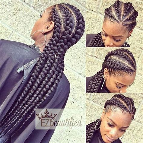 big cornrows 31 stylish ways to rock cornrows big cornrows cornrows