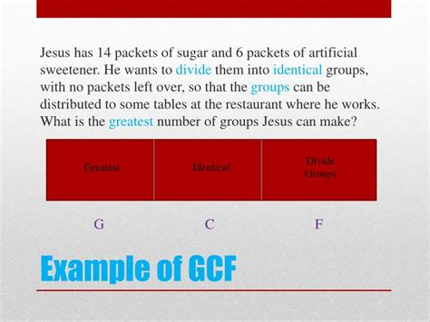 powerpoint tutorial gcf ppt how to know when to use gcf or lcm to solve a word