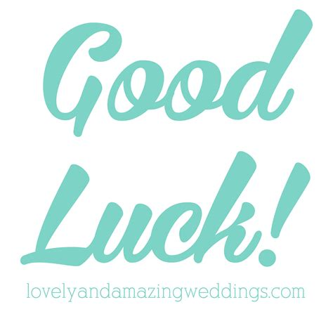 gud luck good luck 187 lovely and amazing weddings