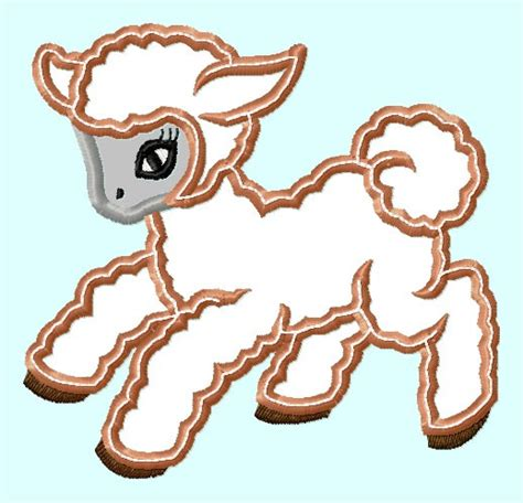 embroidery design lamb 301 moved permanently