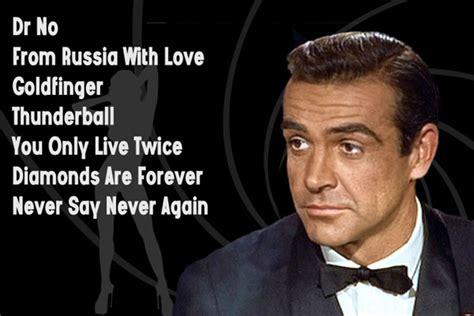 Films James Bond Sean Connery | actors who played james bond britain explorerbritain