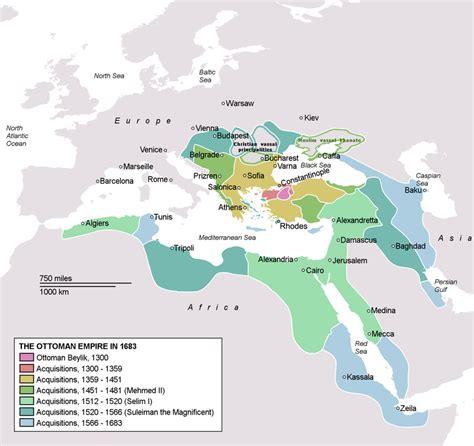imperio otomano o que é o imp 233 rio otomano em 1683 ottomanempirein1683 turquia