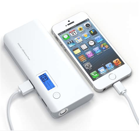 Powerbank Veger 20000mah Slim Product power bank 20 000mah dual usb lcd display grey white