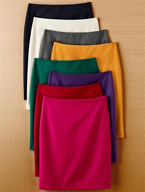 colored pencil skirts colored pencil skirts blusas faldas vestidos etc