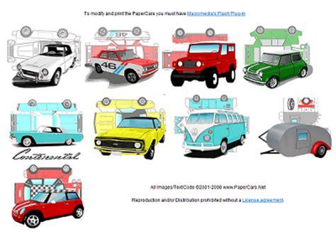 Mini Cooper Papercraft - mini cooper paper model cars mini info
