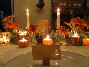 Thanksgiving Table Decorations by Thanksgiving Table Six Twists