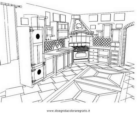 cucina da colorare disegno dispensa cucina da colorare