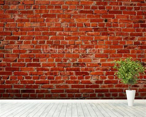 brick wall murals brick wall wallpaper wall mural wallsauce