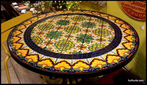 mosaic tile patio table tile and glass mosaic tables