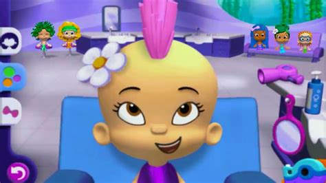 bubble guppies haircut game bubble guppies games good hair day to play gamesworld