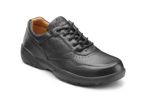 casual comfort robert casual comfort orthopedic shoes for men black