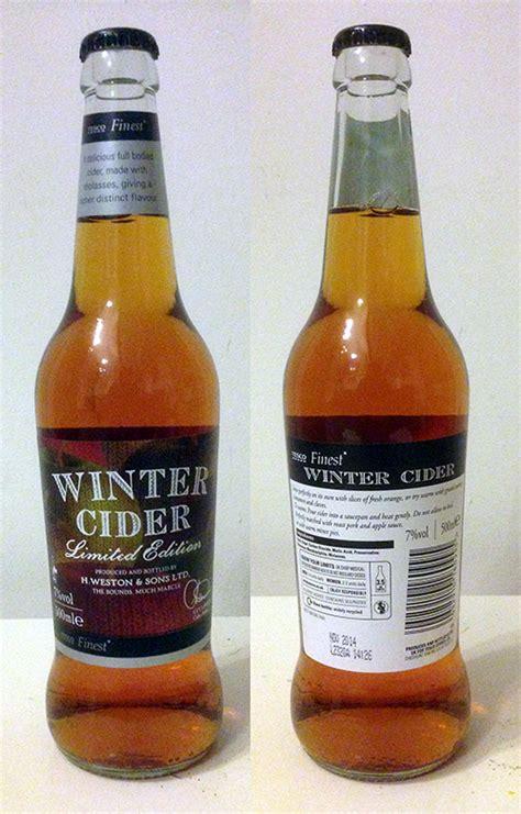 scow cider cider pages tesco finest winter cider