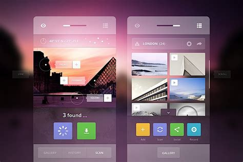 Ui Design Ideas by Creative Ui Design By Cosmin Capitanu