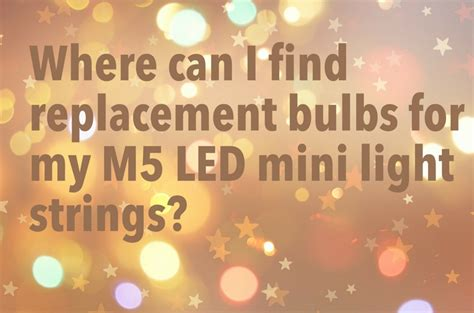 where can i find replacement led bulbs
