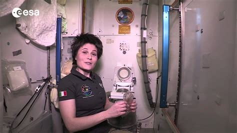 using the bathroom in space international space station toilet tour youtube