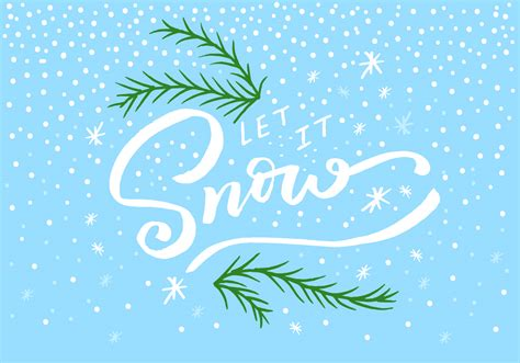 snow lettering   vectors clipart graphics vector art