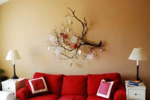 Wall Decor And Home Accents by Marvelous Red Soft Sofa And Great White End Table Ideas