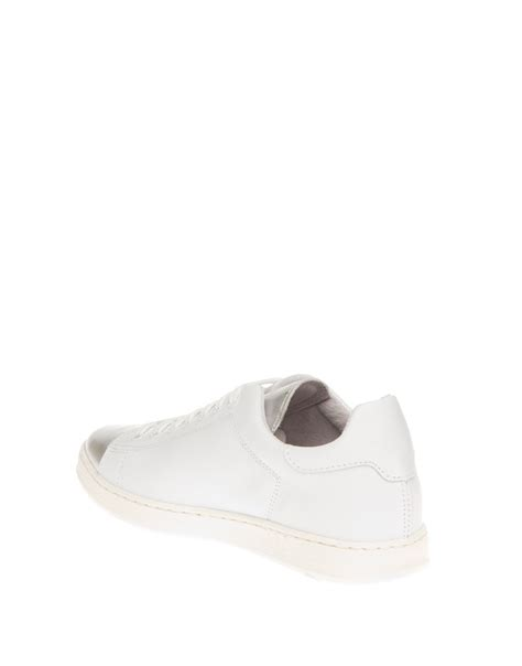 A C C E P T Lip Sneakers Black p o s pair of shoes sneaker leather white silver gs1