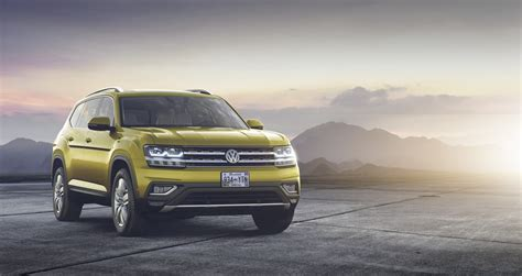 volkswagen atlas 7 seater 2018 vw atlas is a brand new 7 seater large crossover for