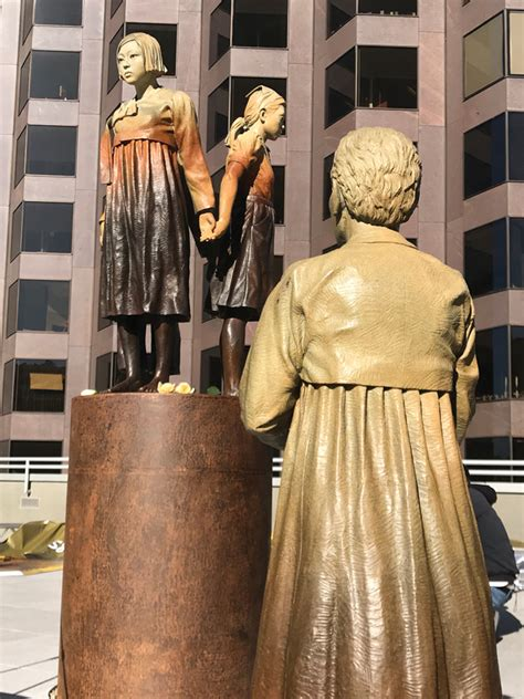 comfort women monument nichi bei 187 a mixed plate of japanese american news and
