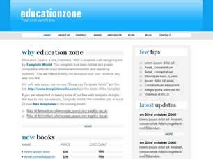 free css templates for educational websites education zone free website template free css templates