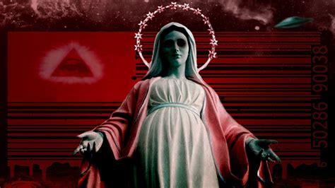 imagen de virgen maria reina virgen maria reina del nuevo orden youtube